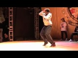 B-Boy Championships World Finals 2009 - Popping - Slim Boogie vs Dickson